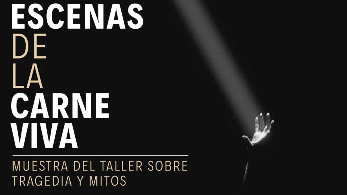 Muestra de Tragedias y Mitos en el Teatro Las Sillas