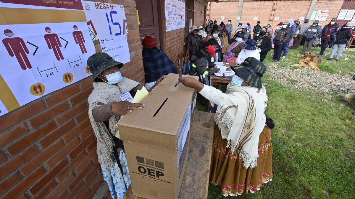 Elecciones regionales en Bolivia.