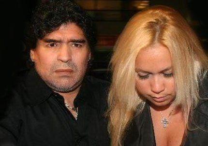 La novia de Maradona perdió el bebé