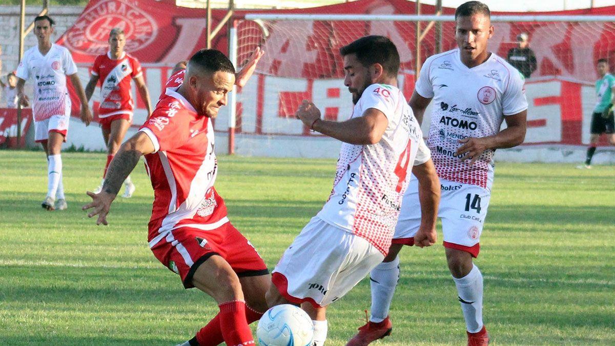 El Loco fue importante en los dos partidos que ganó el Deportivo Maipú.