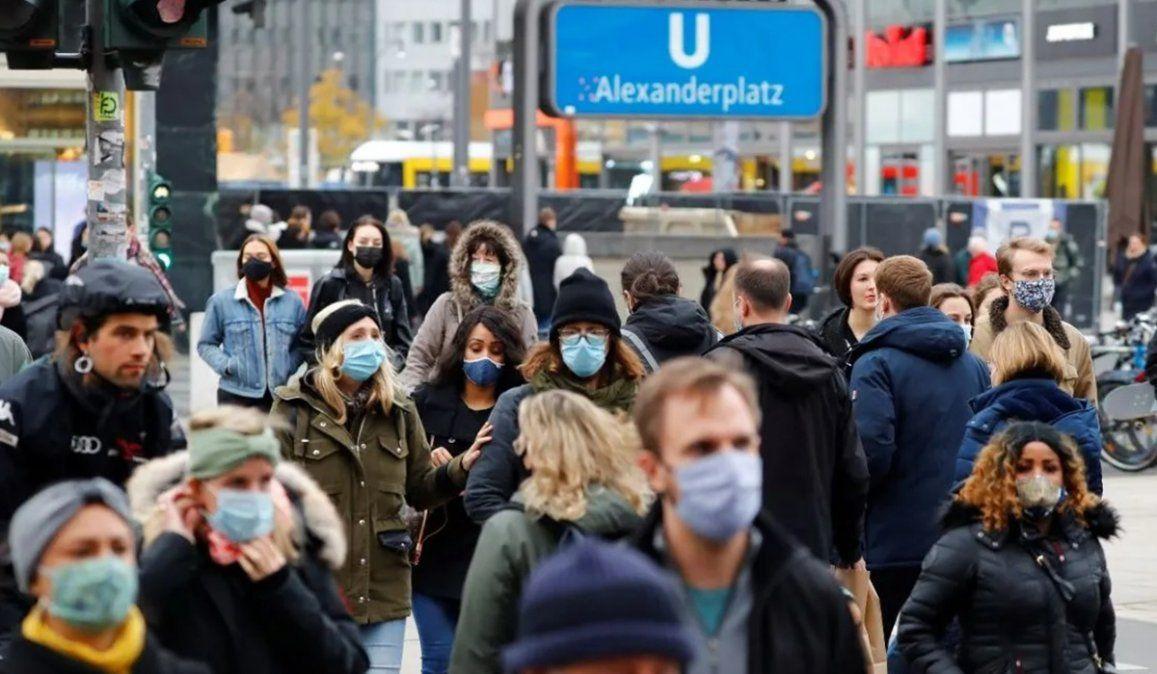 En Alemania preocupa la aparición de la nueva cepa de coronavirus detectada en Gran Bretaña