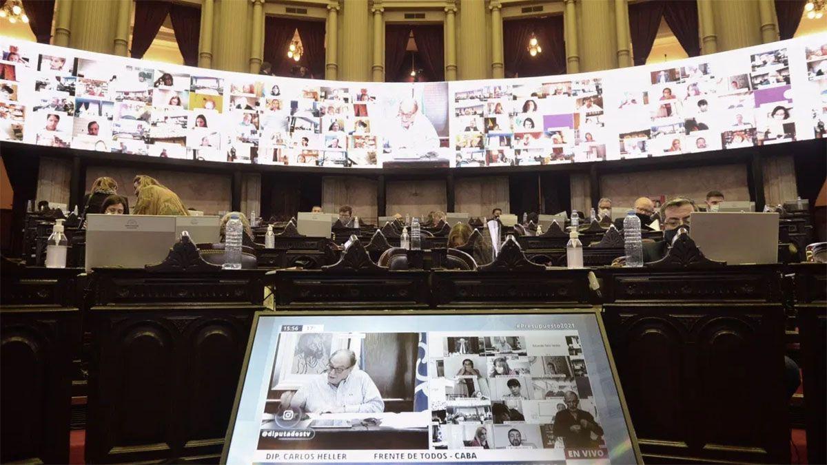 Diputados aprobó el Presupuesto 2021