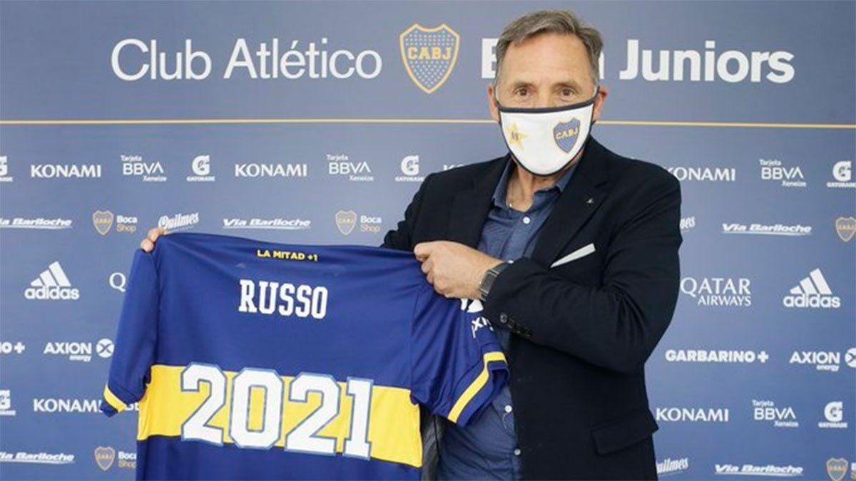 Miguel Ángel Russo renovó con Boca hasta diciembre de 2021