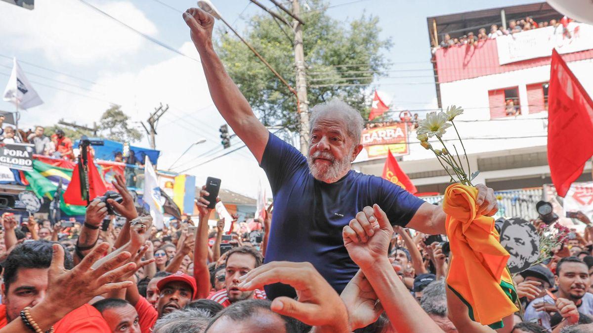 Anularon todas las condenas contra Lula