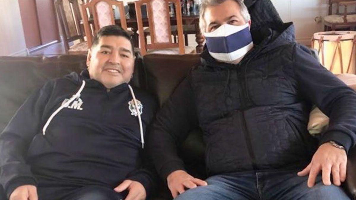 Montan un operativo especial en los homenajes a Maradona
