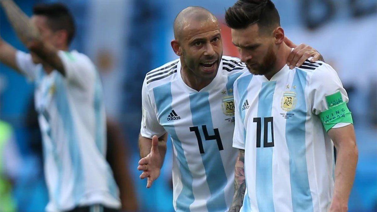 Mascherano se refirió a la decisión que debe tomar Messi sobre su futuro