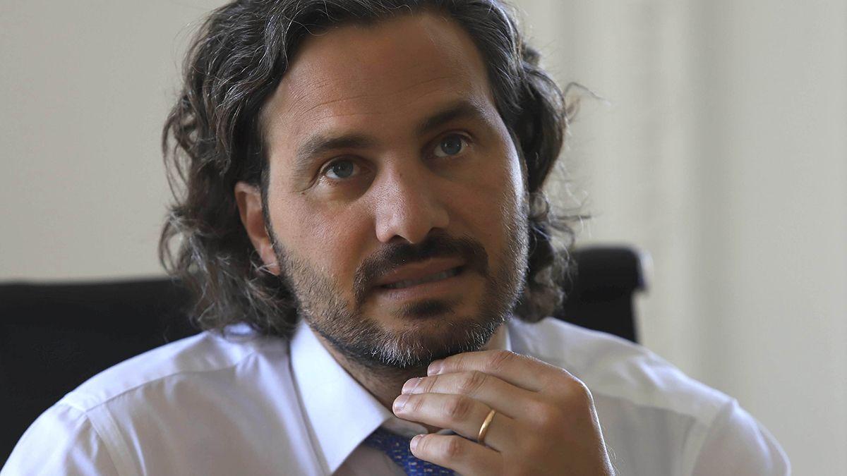Santiago Cafiero pidió el acompañamiento de la gente frente al plan de vacunación y reiteró que hay un problema mundial con la producción de vacunas.