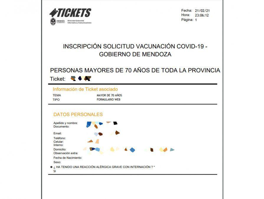Vacuna contra el coronavirus: cómo saber si tengo turno para la segunda dosis en Mendoza