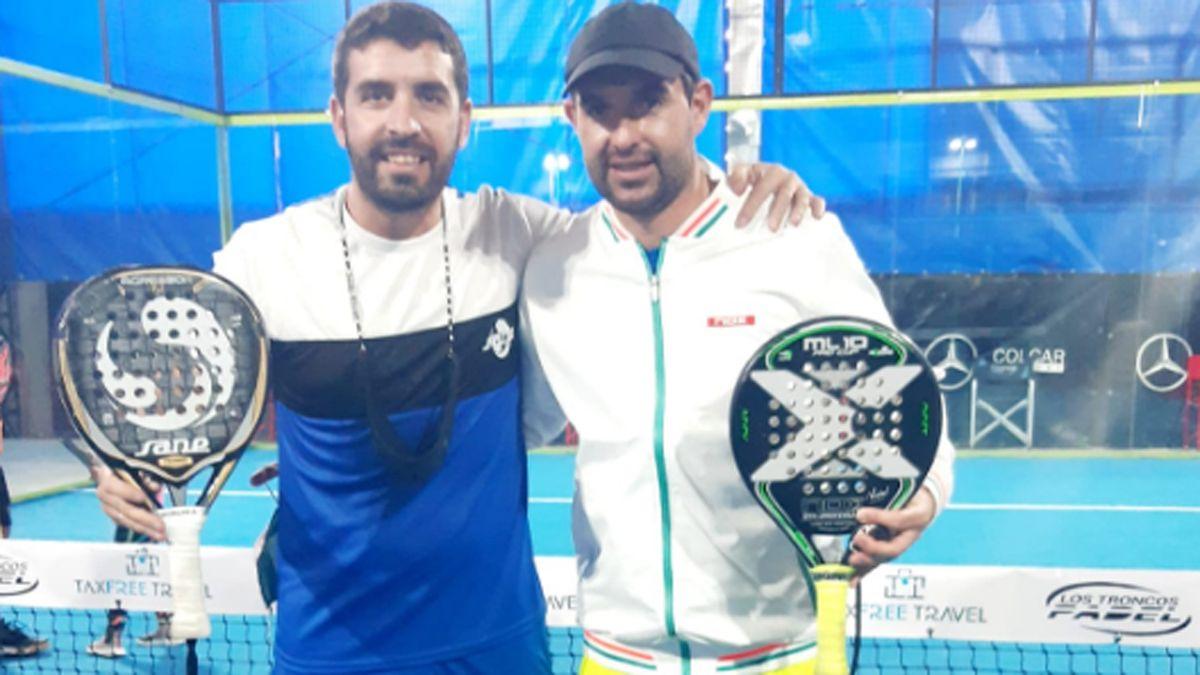 Franco Polucci y Germán Buenanueva se clasificaron al Mundial de pádel en Las Vegas.