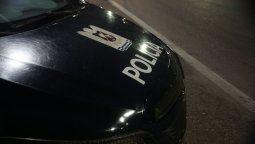 Arduo trabajo tuvo la policía en las primeras horas de este domingo.