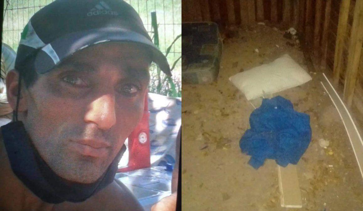 Maia: hallaron un buzo, un colchón y una almohada al costado de una ruta