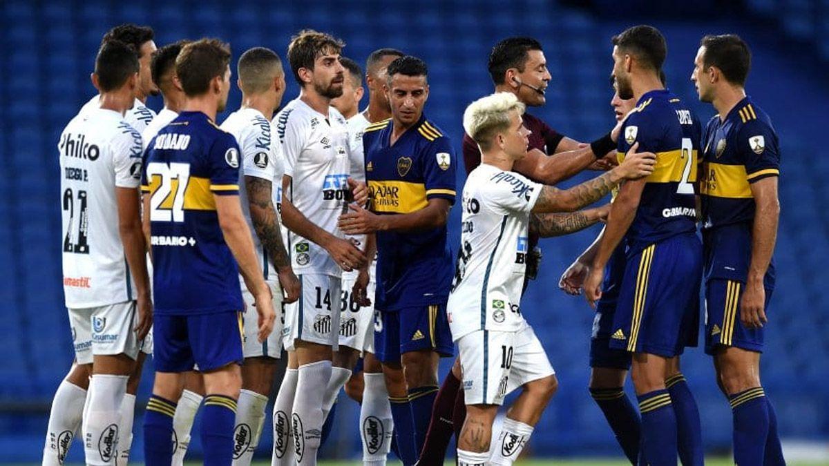 Santos vs. Boca: hora, TV y probables formaciones