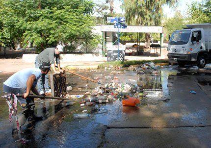 Capital envió un comunicado pidiendo que los vecinos cuiden la limpieza