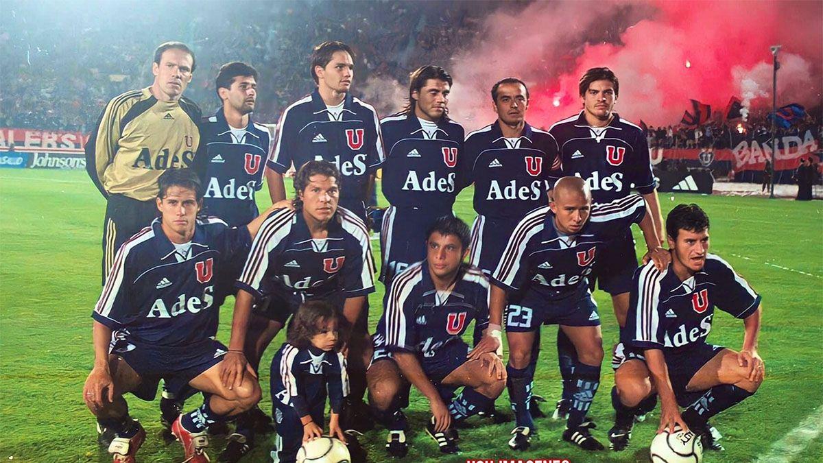 Rivarola estaba en su época de gloria con la U de Chile.