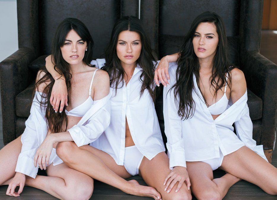 Jujuy Jiménez y sus hermanas posaron en bikini y estallaron la red.