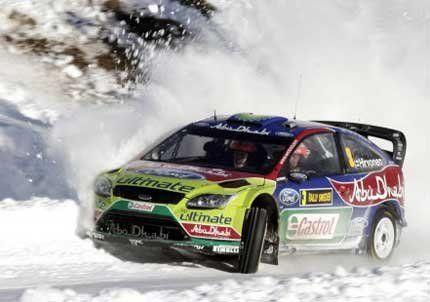 El finlandés Mikko Hirvonen ganó el rally de Suecia