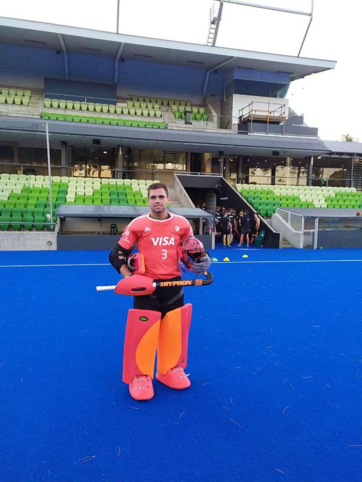 Emiliano Bosso formará parte de Los Leones que viajarán a los Juegos Olímpicos.