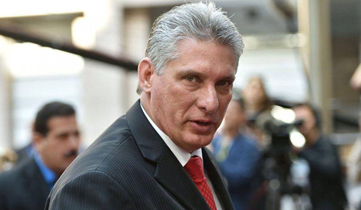 El presidente de Cuba Miguel Díaz-Canel espera que con el triunfo de Joe Bide