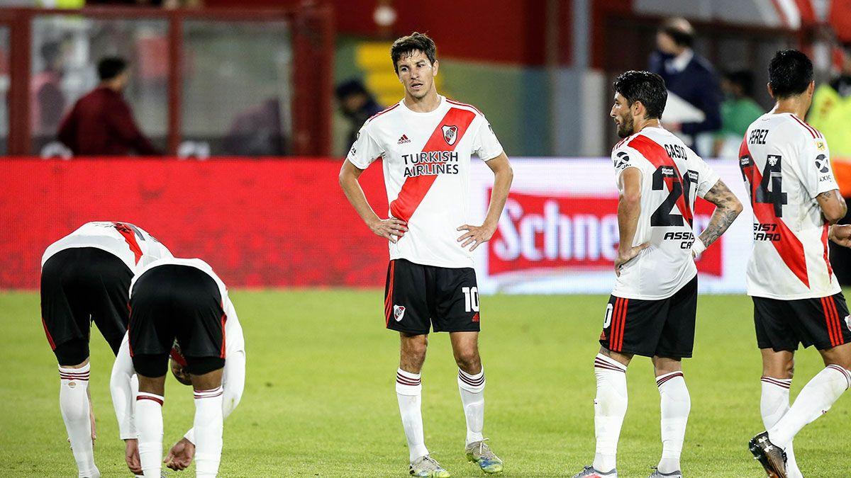 Nacho Fernández y otra lesión que preocupa en River