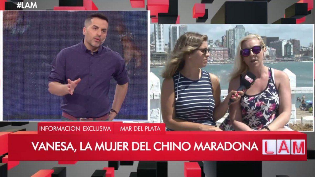 ¡Escándalo! Vanesa Maradona acusó a Rocío Oliva: Golpeó a Diego y lo tiró por la escalera
