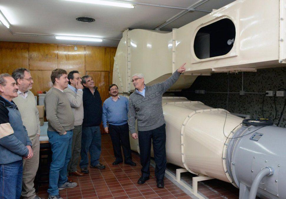 La Universidad Tecnológica Nacional presenta su túnel de viento