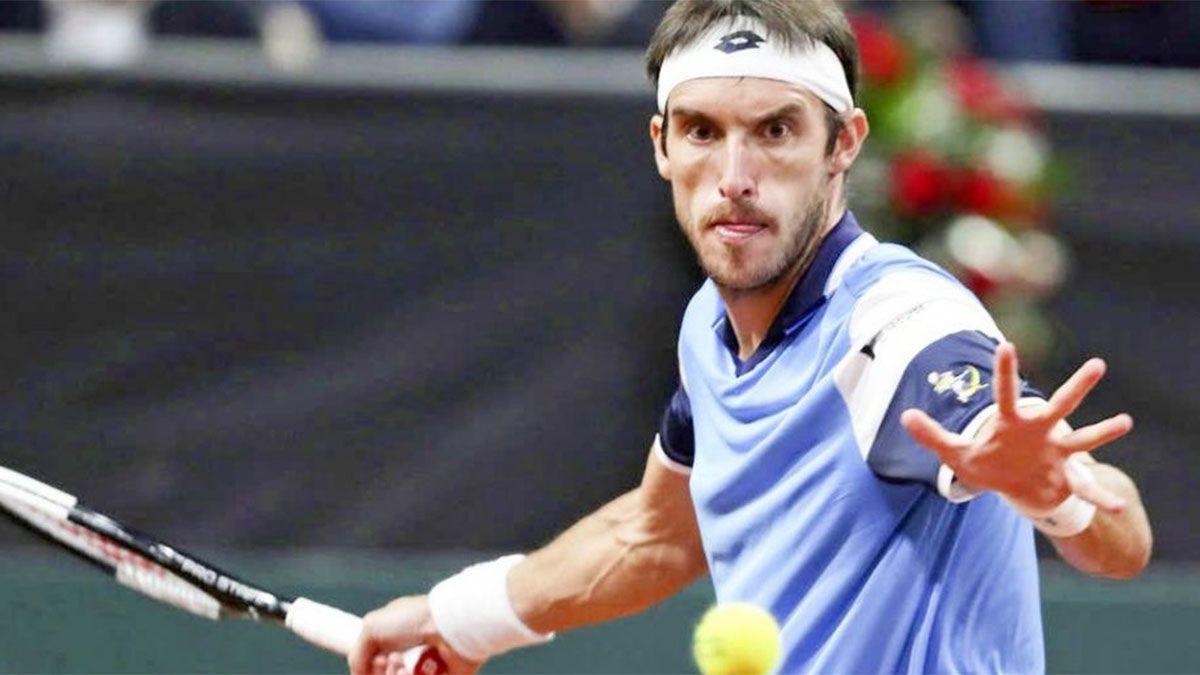 Leonardo Mayer debutará en el Challenger de Turquía