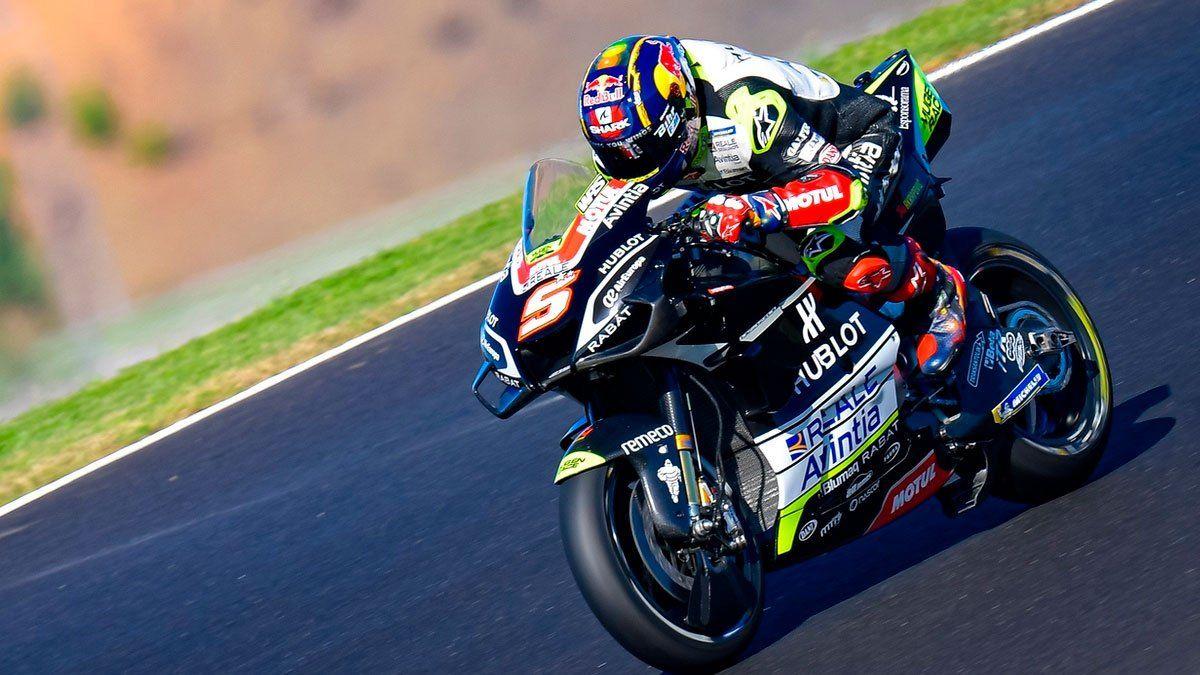 Oliveira logra su primera pole en el Moto GP