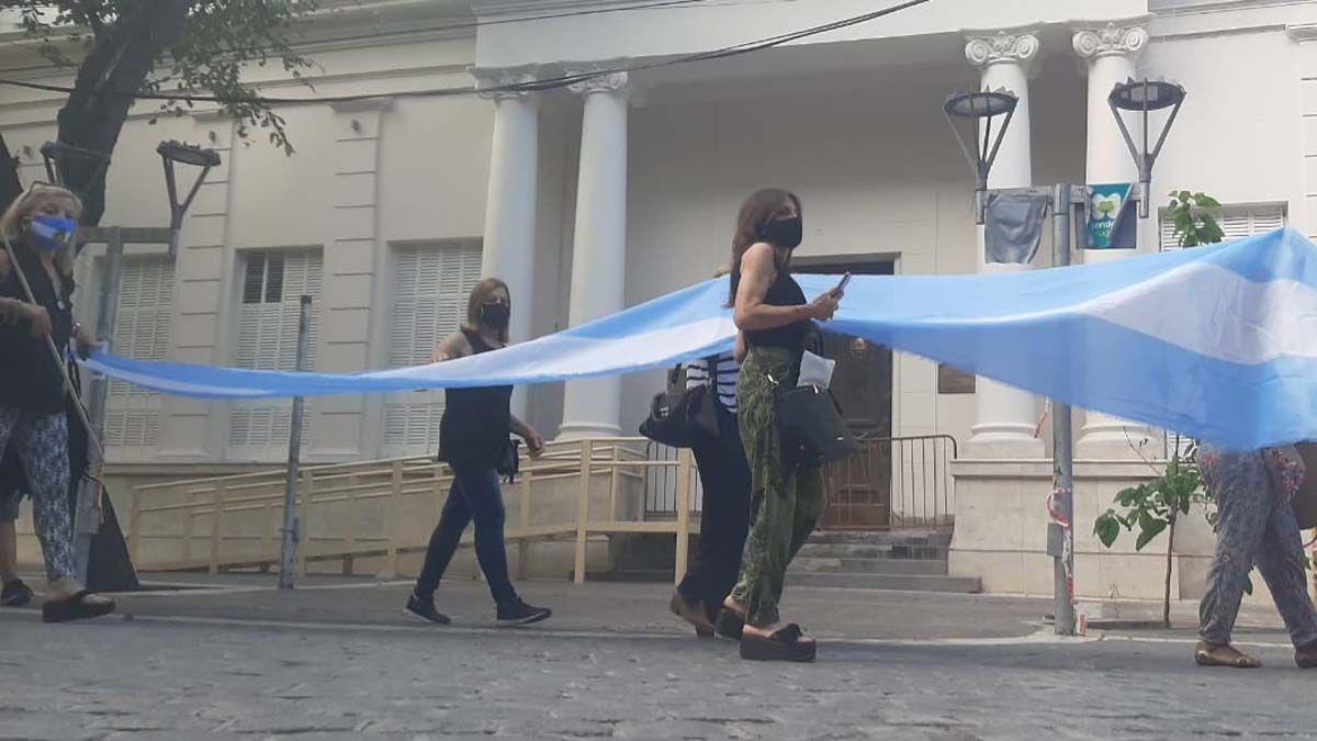 En Mendoza reclamaron el esclarecimiento de la muerte de Nisman