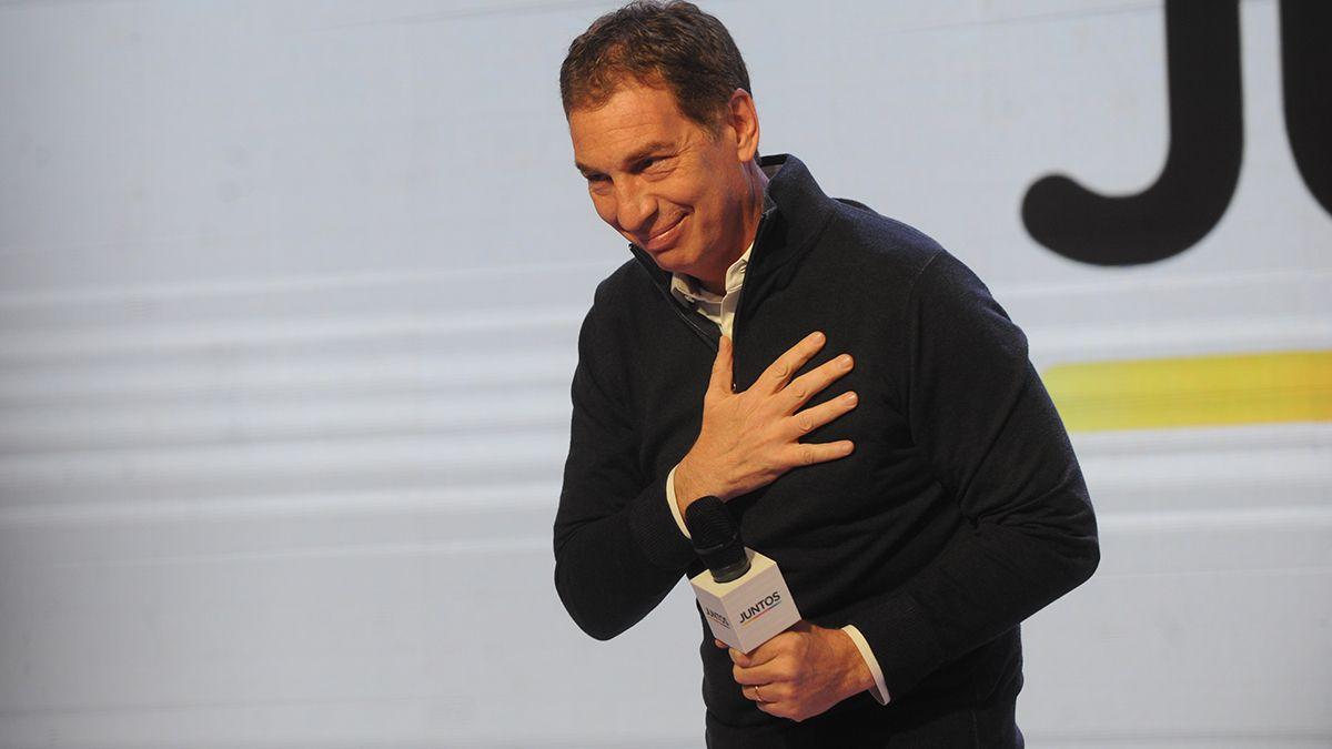 Diego Santilli se imponía en la interna de Juntos por el Cambio con el 58,2% de los votos y Facundo Manes obtenía el 41,7%.