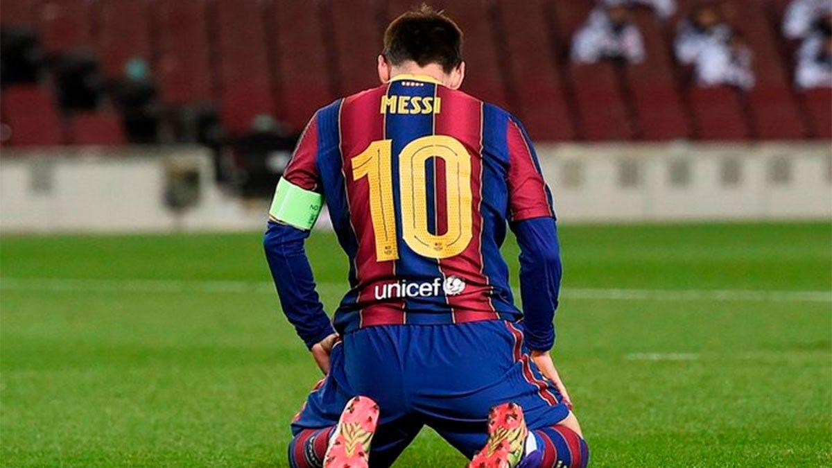 El mundo Barcelona, en guardia por el contrato de Messi