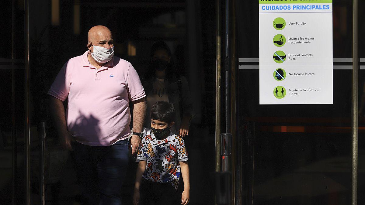 Más de 17.000 nuevos casos este jueves de coronavirus en Argentina.