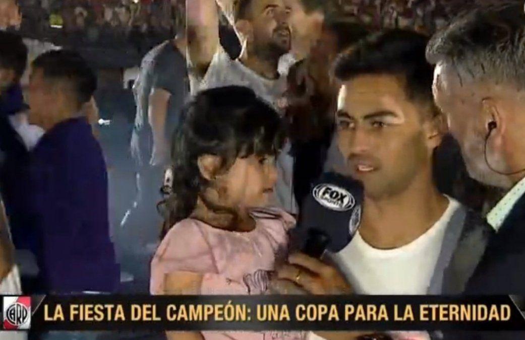 Lo hizo otra vez: el Pity Martínez recreó el tercer gol de la final de la Libertadores
