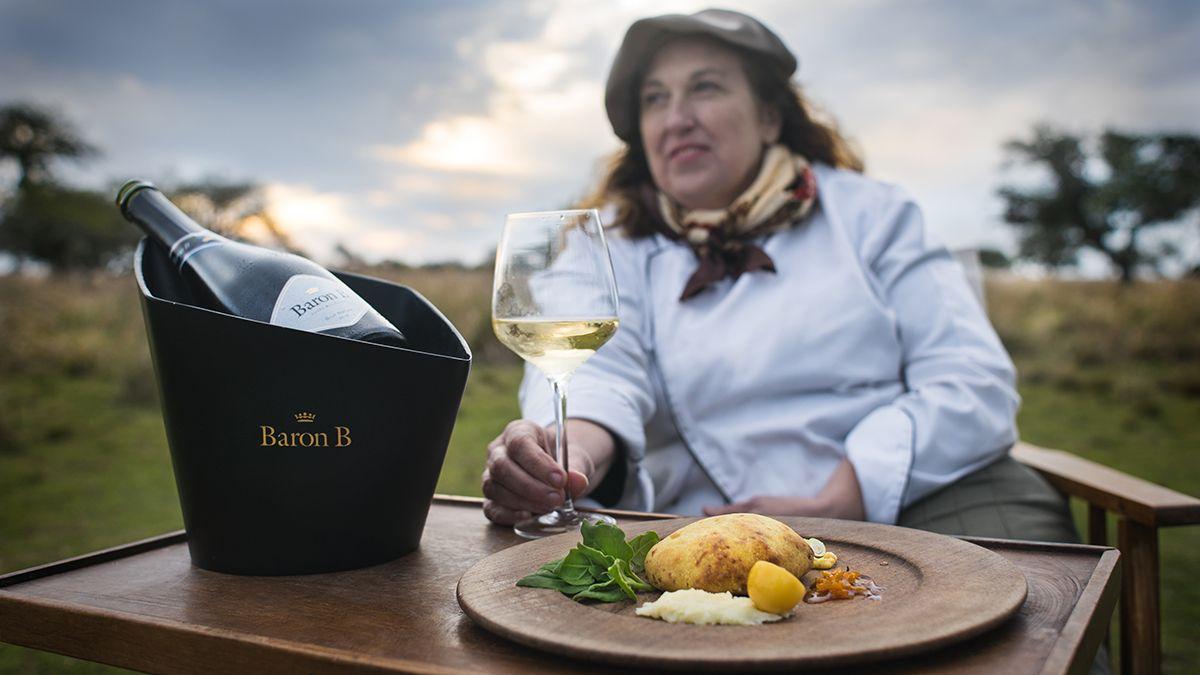 La ganadora de la primera edición del Prix de Baron B - Édition Cuisineen 2018