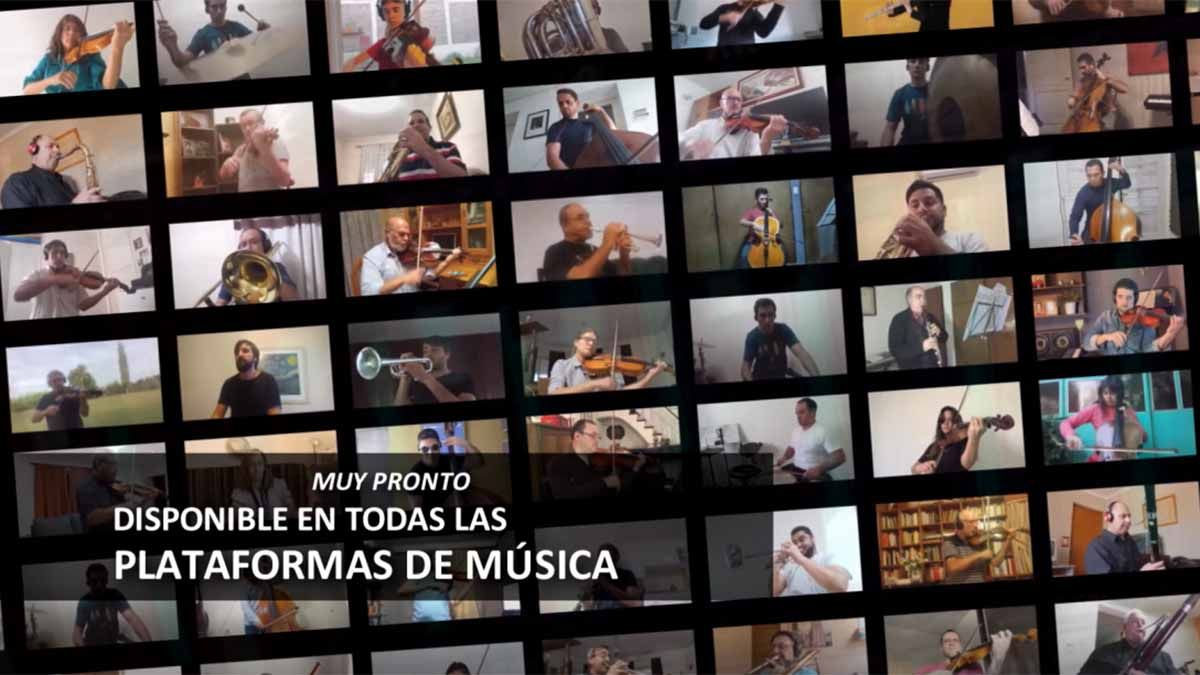 El inédito trabajo de la Filarmónica de Mendoza en pandemia