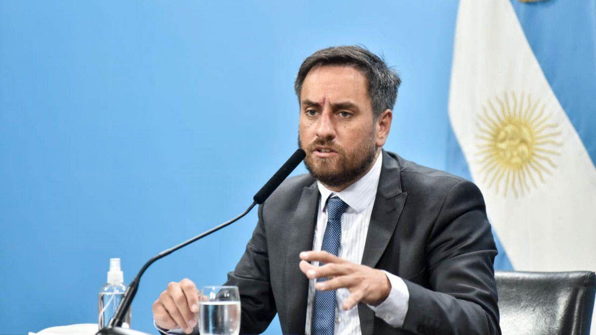 El ministro de Ambiente y Desarrollo de la Nación