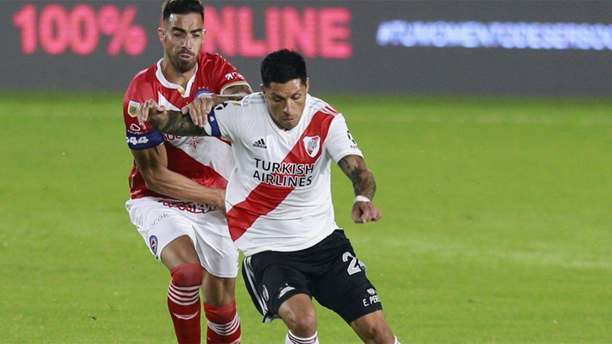 River perdió ante Argentinos con un golazo de Florentín