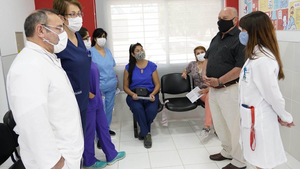 Llegaron las vacunas Sputnik V a Rivadavia