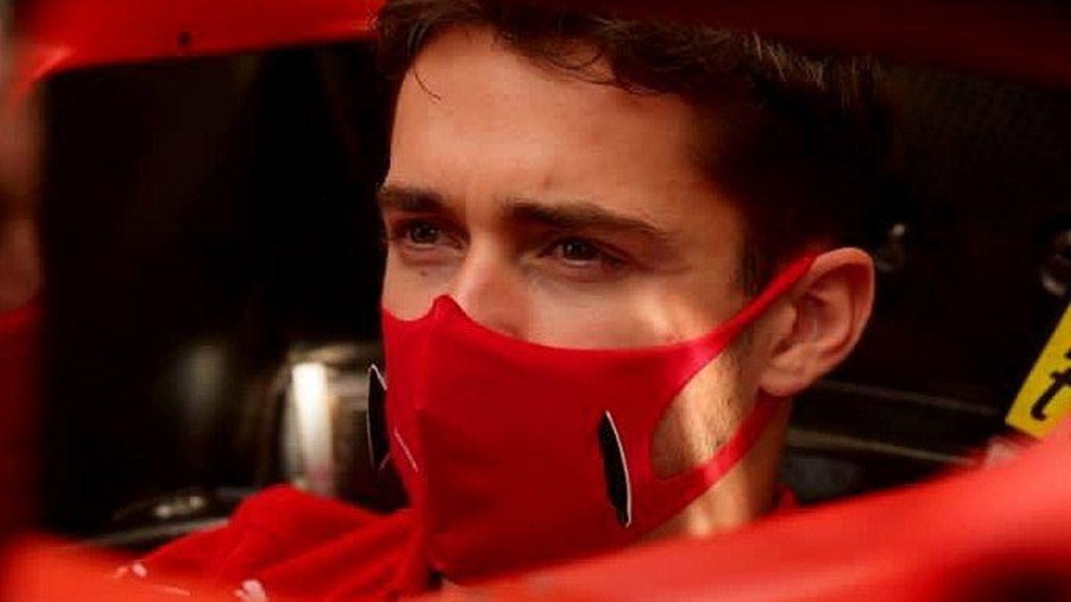 Ferrari informó que Leclerc dio positivo de coronavirus