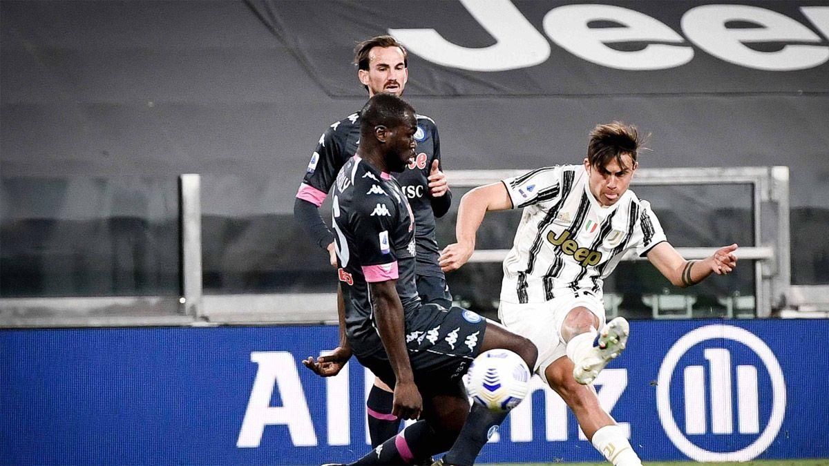 Dybala tuvo un regreso soñado en la Juventus
