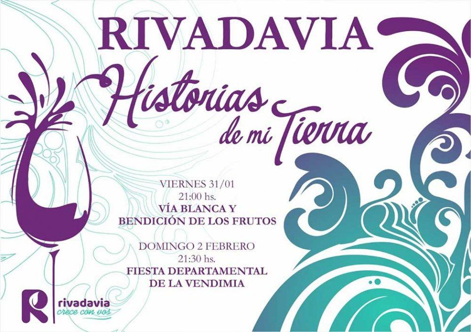 Estas son las 13 candidatas vendimiales de Rivadavia