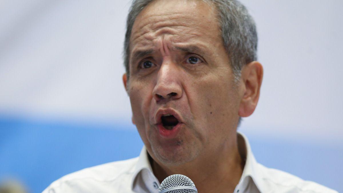 El secretario general de la Asociación Bancaria Sergio Palazzo envió sus condolencias a la familia del fallecido banquero Jorge Brito.