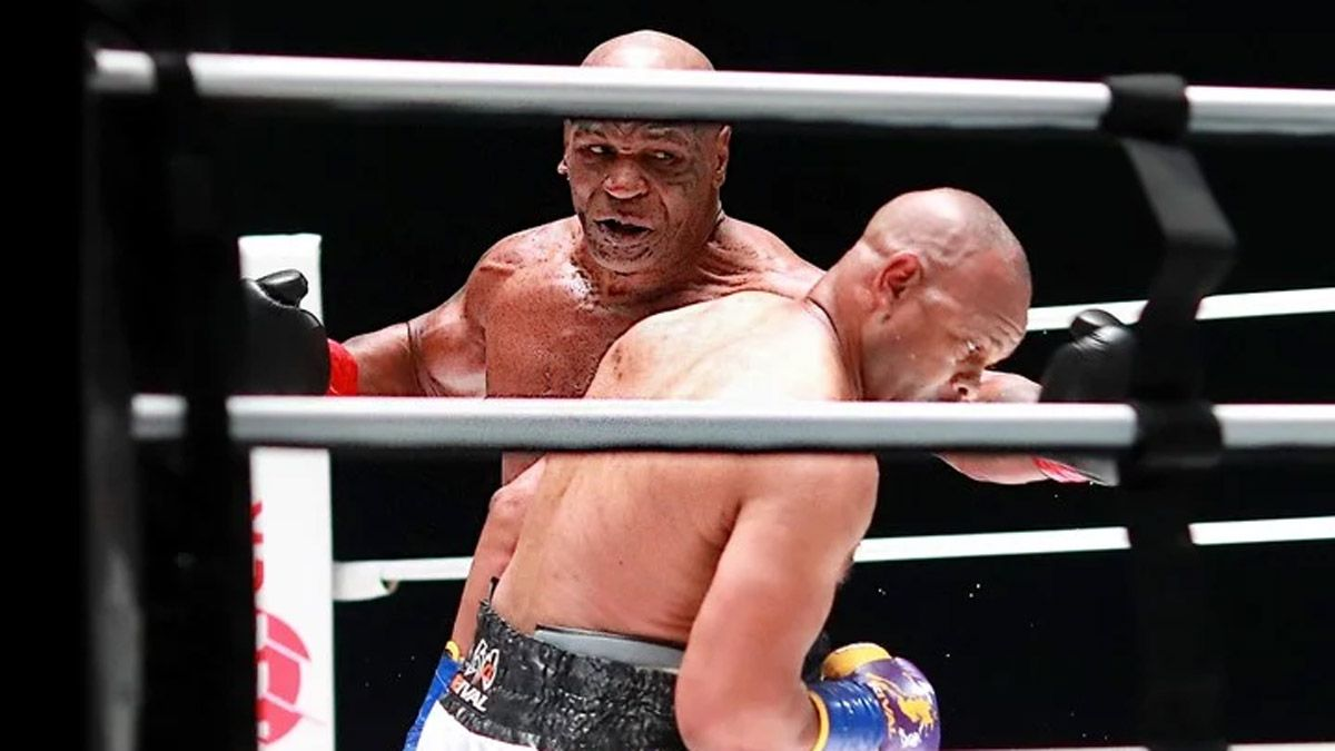 Mike Tyson volvió a pelear y sus fanáticos flashearon