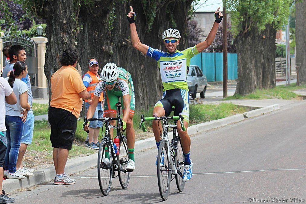 Gran triunfo de Martín González en el campeonato mendocino de ruta