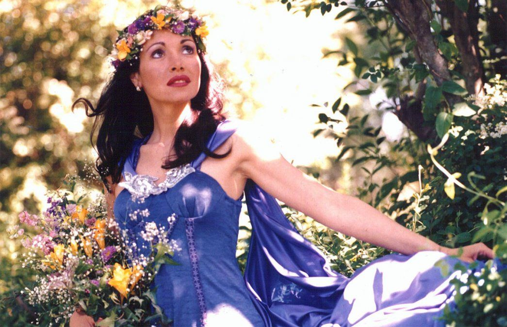 Gilda. Este 7 de septiembre se cumple el 24 aniversario de la muerte de Gilda en Entre Ríos. El mundo de la música la recuerda siempre con cariño. Foto: NA.