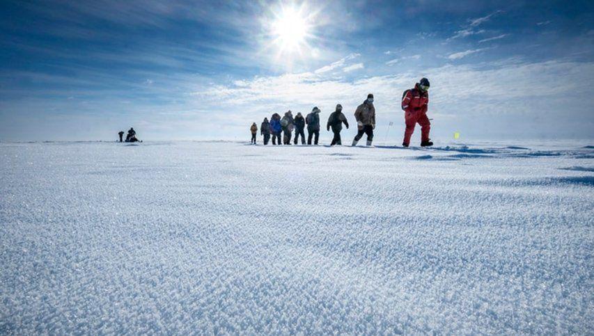Una expedición histórica al Polo Norte para salvar el planeta