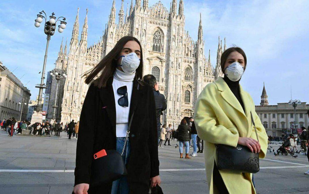Coronavirus en Italia. Aumentan los contagios.