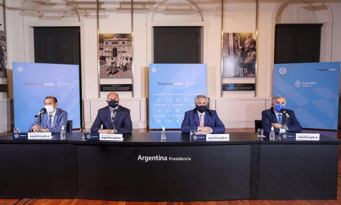 El presidente Alberto Fernández anunció las nuevas restricciones que incluyen a Mendoza. Aún no se conocen más detalles de las medidas.