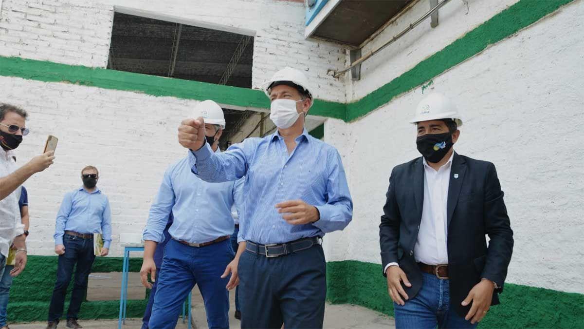 El importante Centro contra la mosca del mediterráneo que inauguró Suarez