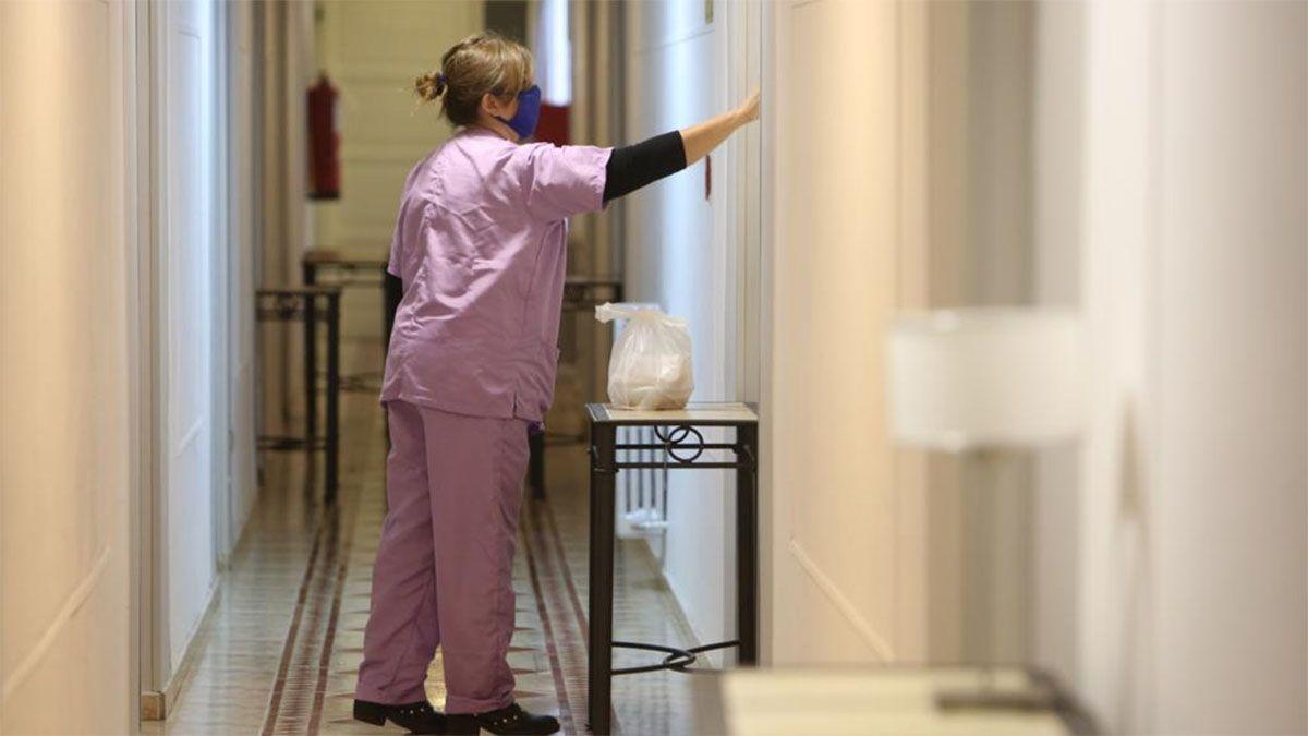 Quedarán cuatro hoteles dispuestos para enfermos de Covid-19. En el momento de mayor demanda