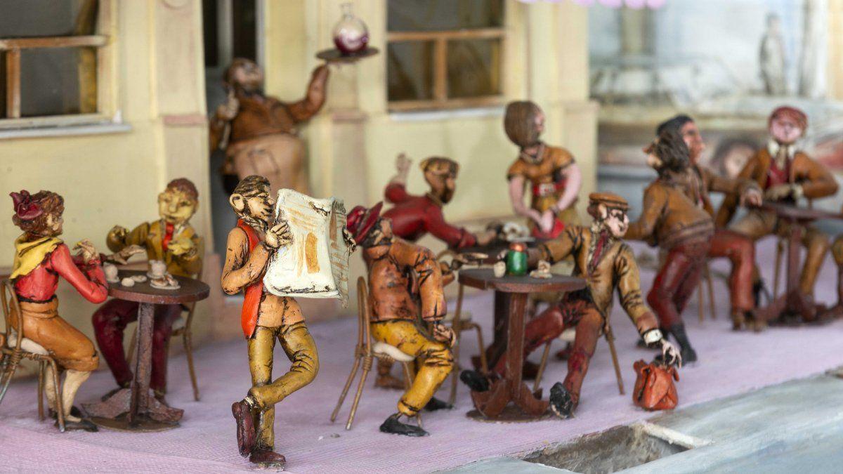Uno de los 9 dioramas que componen el Museo Municipal Callejero